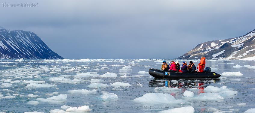 Arctic Ice Tourism