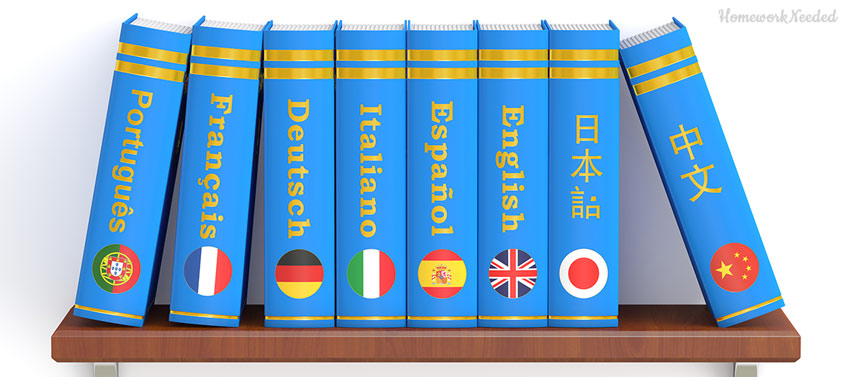 Dictionaries on a Shelf