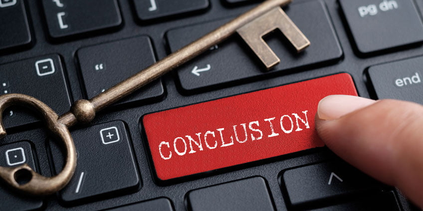 What is a conclusion in an essay?