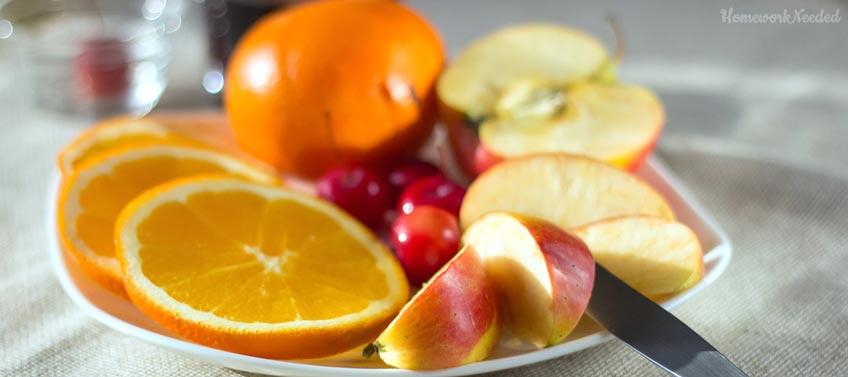 Oranges, Cherries and Apples