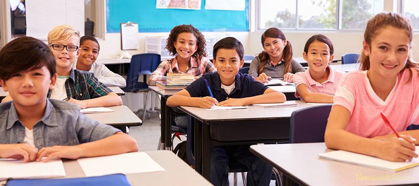 Pupils in Classroom