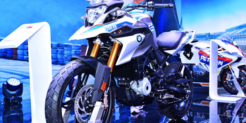 What does GS stand for in BMW motorcycles